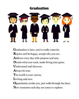 High School Graduation Poems/Gifts