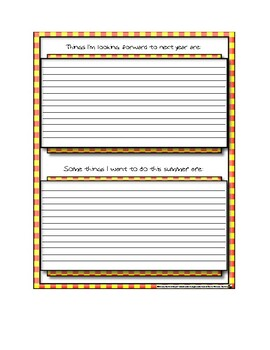 High School Graduation and End of School Year Activities Packet