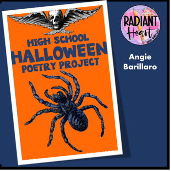 High School Halloween Poetry Unit Radiant Heart Publishing