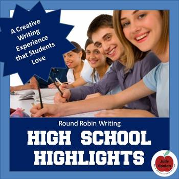 High School Highlights: 40 Story Starters for Creative Writing Activities