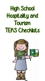 High School Hospitality and Tourism TEKS Checklist