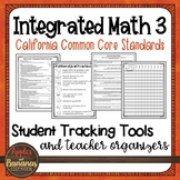 High School Integrated Math 3 - Student Tracking Tools and