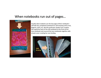 High School Interactive Notebooks for SWDs and ELLs (ENLs)