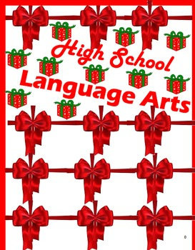 High School Language Arts Worksheets for the Holidays