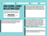 High School Legacy Reflection Essay