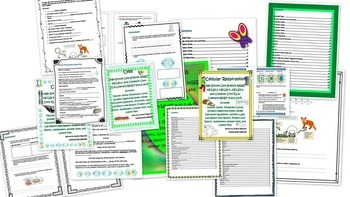 High School Life Science Biology-Cell Biology BUNDLE!!!