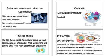 High School Life Science Biology-Cells