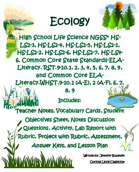 High School Life Science Biology- Ecology
