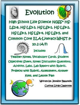 High School Life Science Biology- Evolution