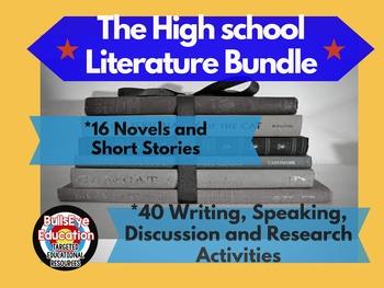 High School Literature Bundle