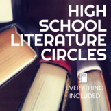 High School Literature Circles Bundle - Everything you need!