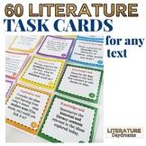 Literature Task Cards