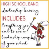 High School Marching Band Leadership Training Program