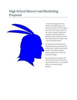 High School Mascot and Marketing Proposal