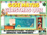 High School Math Christmas Quiz
