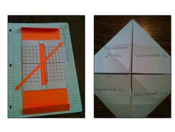 High School Math Foldables and Interactives