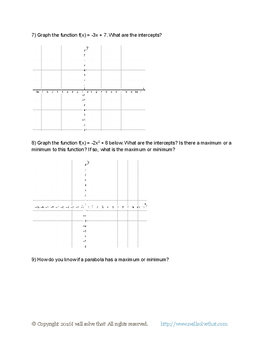 High School Math: Functions F.IF.C.7.a