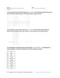 High School Math: Functions F.IF.C.9 Comparing Quadratics