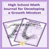 High School Math Journal Reflection Writing