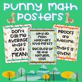 High School Math Posters - Classroom Decor - Llama Themed