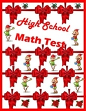 Christmas Math-College and Career Readiness
