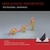 High School Mathematics Math Polynomial Graphing