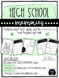 High School Memories Reflection Project **distance learning**