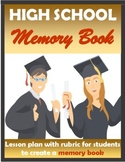 High School Distance Learning Memory Book Lesson (EDITABLE)