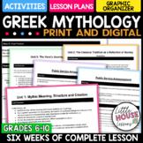 High School Greek Mythology Curriculum