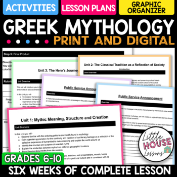 High School Greek Mythology Curriculum