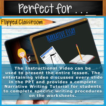 Narrative Writing Lessons Prompts BUNDLE!! w/ Digital Resources  10 Lessons!
