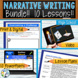Narrative Writing Lessons Prompts BUNDLE!! w/ Digital Reso