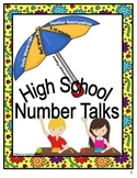 High School Number Talks