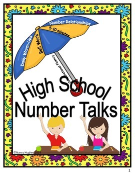 High School Number Talks