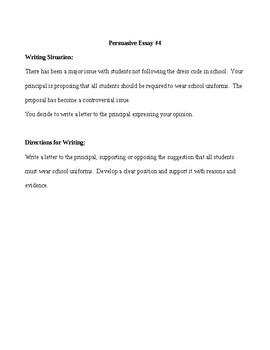 High School Persuasive Essay Topics