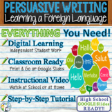 Persuasive Writing Lesson Prompt w/ Digital Resource Learn