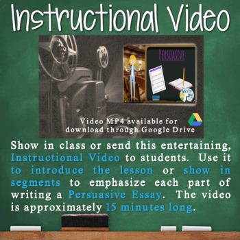 Persuasive Writing Lesson / Prompt – with Digital Resource – Security in Schools