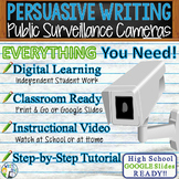 Persuasive Writing Lesson w/ Digital Resource Surveillance