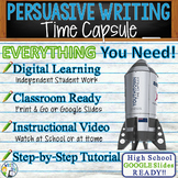 Persuasive Writing Lesson / Prompt w/ Digital Resource - T