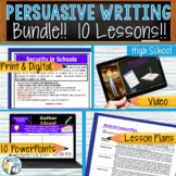 Persuasive Writing Lessons Prompts BUNDLE!! w/ Digital Res