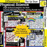High School-Physical Science/Complete the Path-Domino Matc