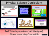 High School Physical Science Curriculum (Year Long Course)