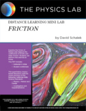 High School Physics - Distance Learning Mini Lab - Friction