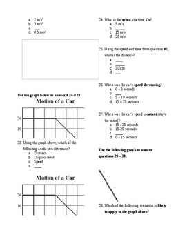 High School Physics Midterm_Modified
