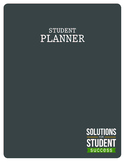 Student Planner {Unlined}
