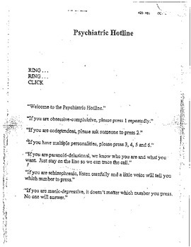 High School Psychology - Somatoform Disorders
