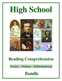 High School Reading Comprehension Bundle