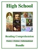 High School Reading Comprehension Bundle