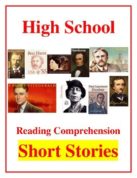 High School Reading Comprehension: Classic American Short Stories Bundle