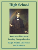 """High School Reading Comprehension: Emerson's """"Self-Reliance"""""""